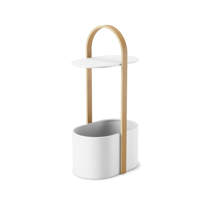 Hub Side table from Umbra in nature / white