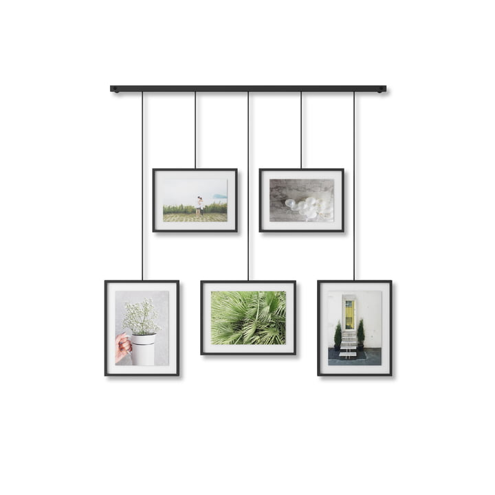 The Exhibit picture frame from Umbra in black