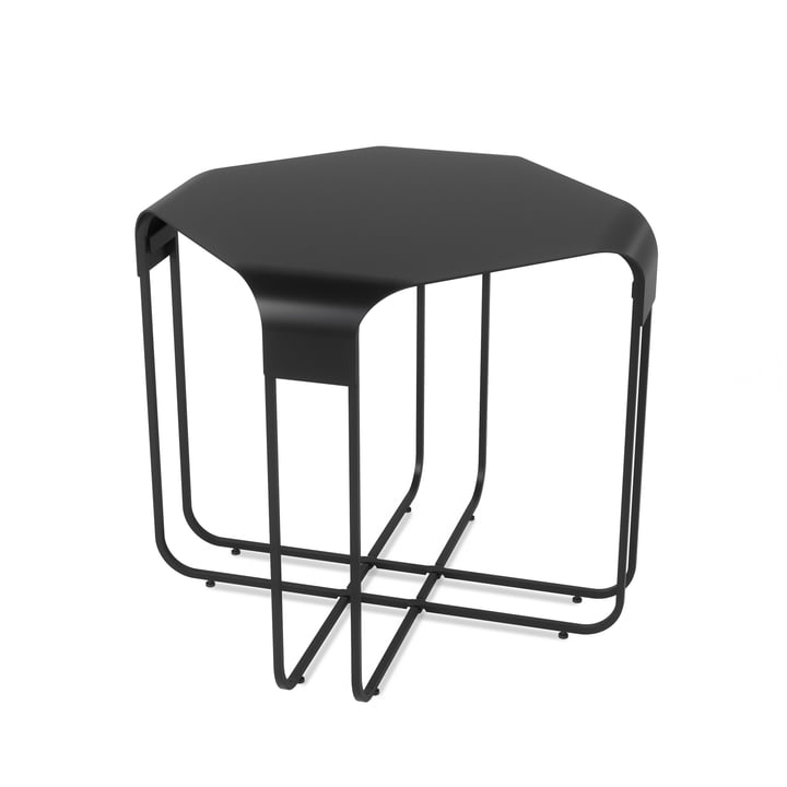 The Graph side table from Umbra in black