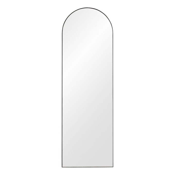 Arcus wall mirror H 140 cm from AYTM in black