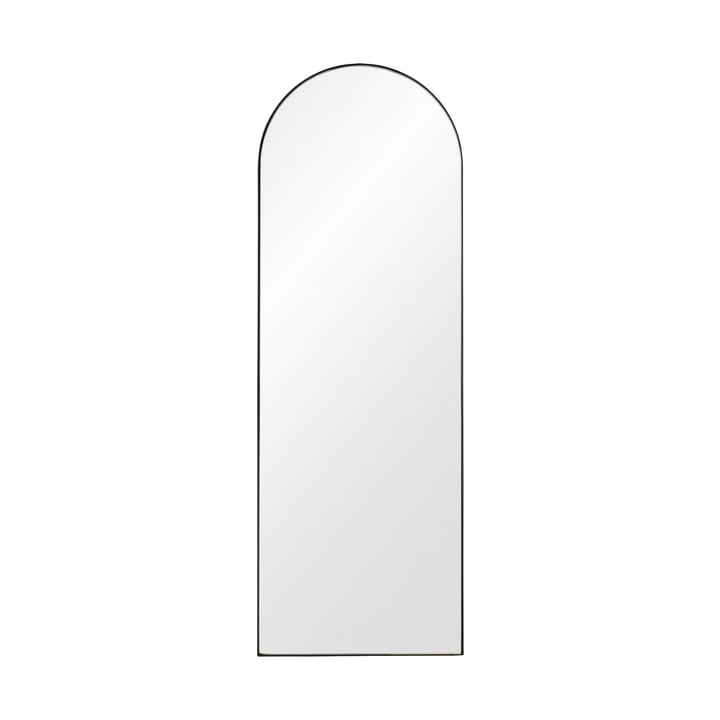 Arcus wall mirror H 115 cm from AYTM in black