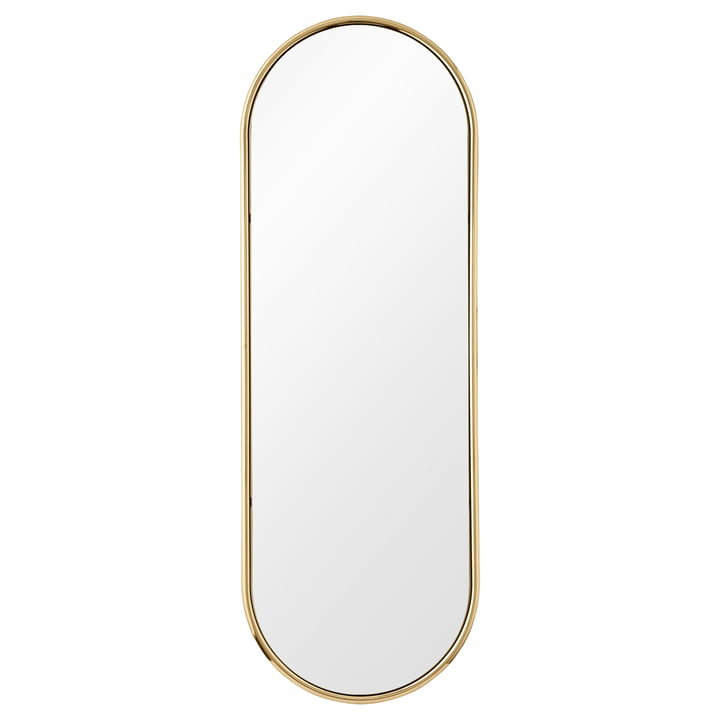 The Angui wall mirror from AYTM in gold, extra large