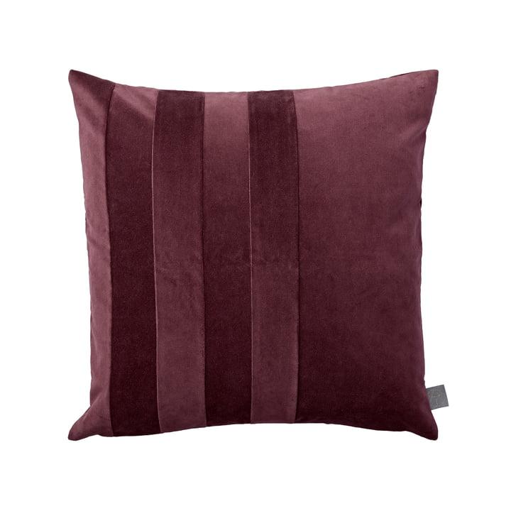 The Sanati cushion, 50 x 50 cm, bordeaux by AYTM
