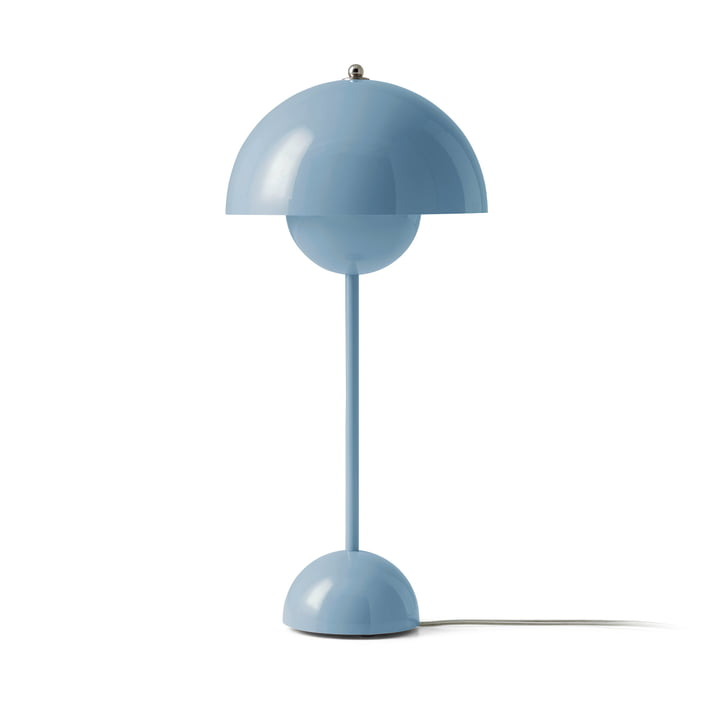 FlowerPot table lamp VP3 from & tradition in light blue