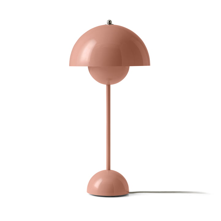 FlowerPot table lamp VP3 from & tradition in beige-red