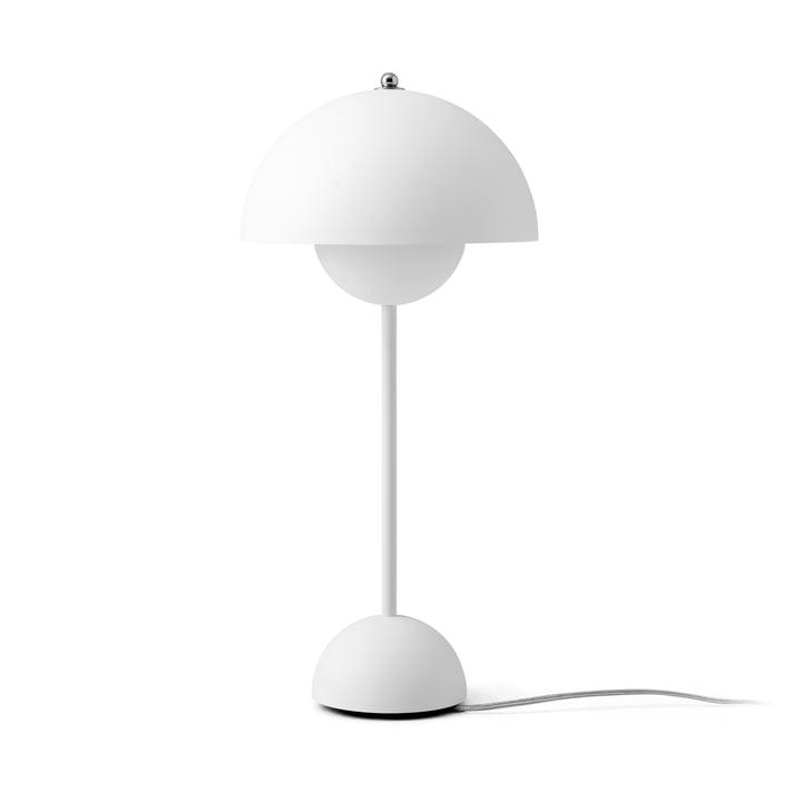 FlowerPot table lamp VP3 from & tradition in matt white