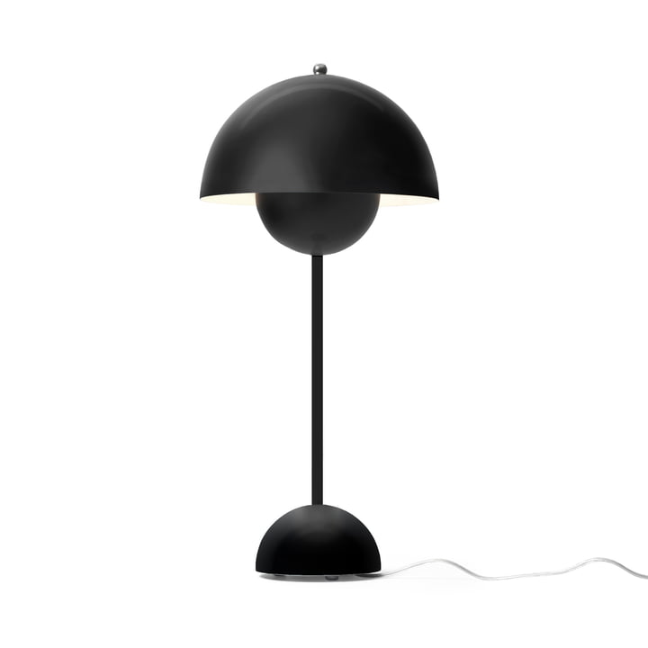The & tradition - FlowerPot table lamp VP3 in black matt