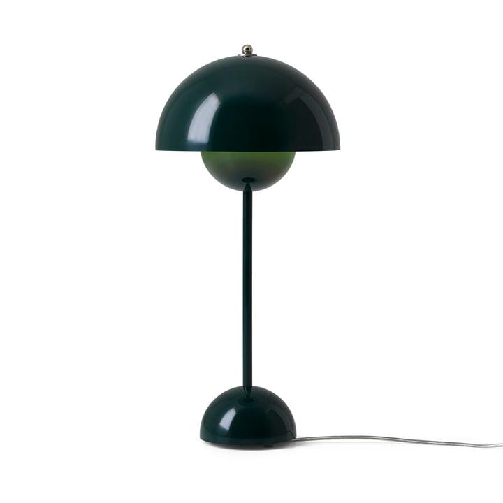 &Tradition - FlowerPot table lamp VP3, dark green