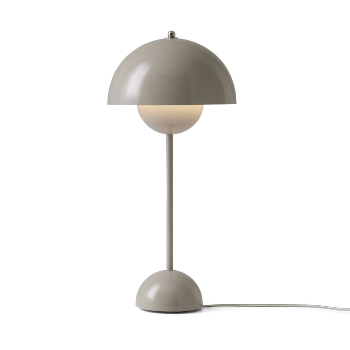 &Tradition - FlowerPot table lamp VP3, grey beige