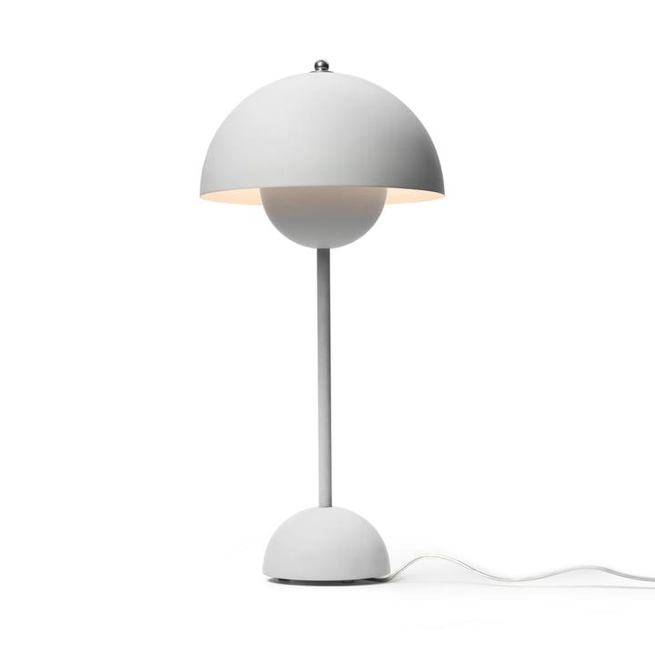 &Tradition - FlowerPot Table Lamp VP3, light grey matte