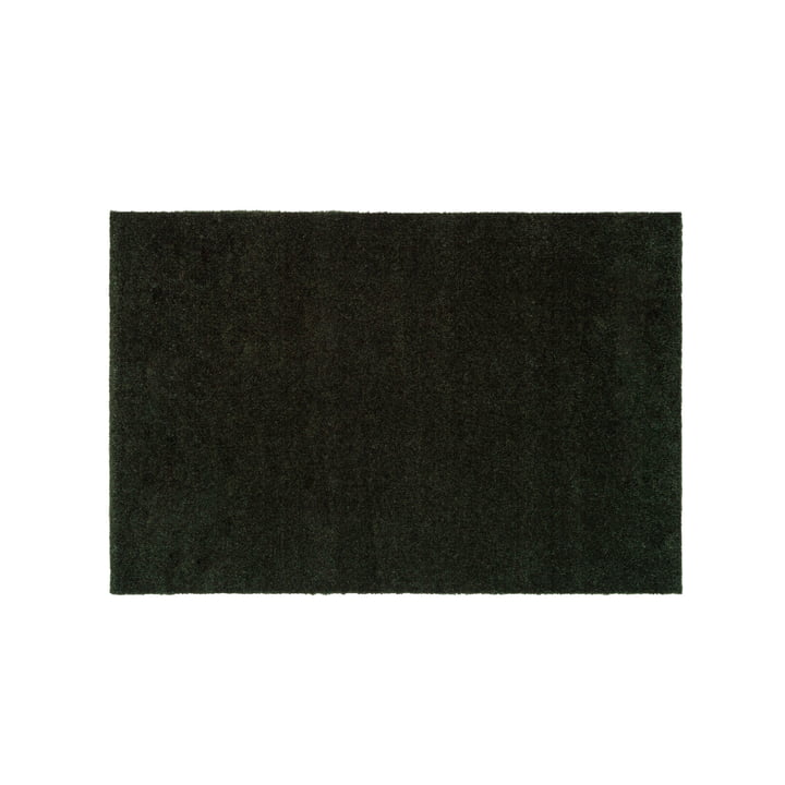 The doormat Unicolor in dark green from tica copenhagen