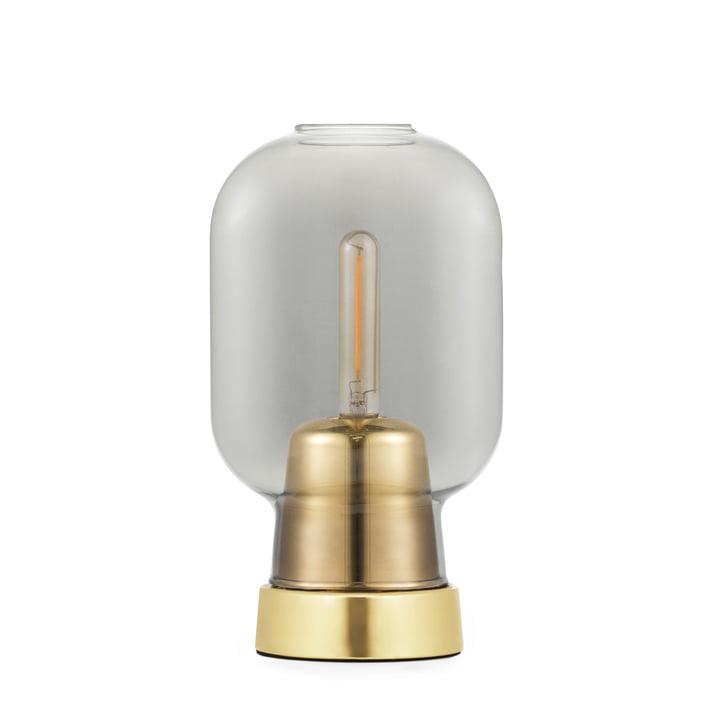 Amp table lamp from Normann Copenhagen in brass / smoke