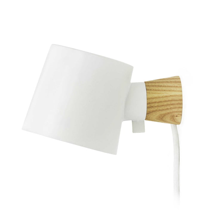 Rise Wall lamp from Normann Copenhagen in white