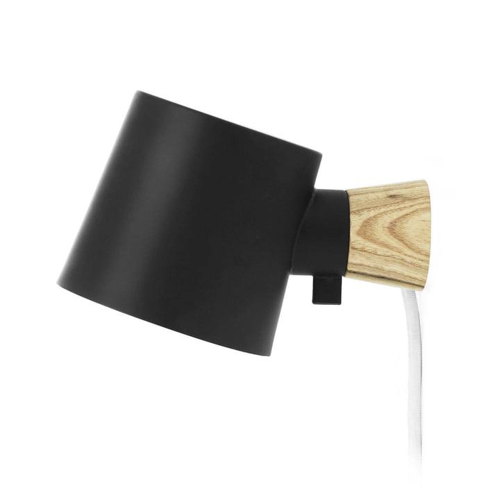 Rise Wall lamp from Normann Copenhagen in black