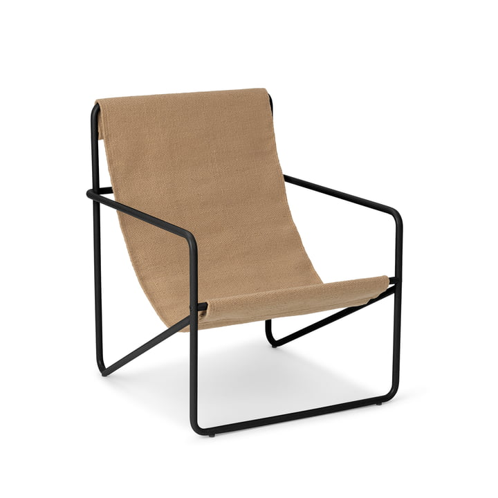 The Desert Chair Kids from ferm Living in black / solid