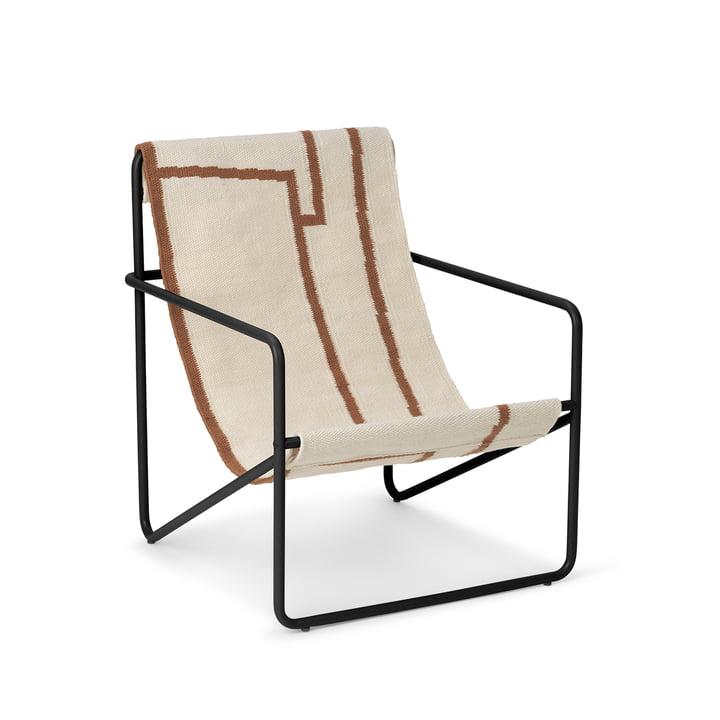 The Desert Chair Kids from ferm Living in black / shape