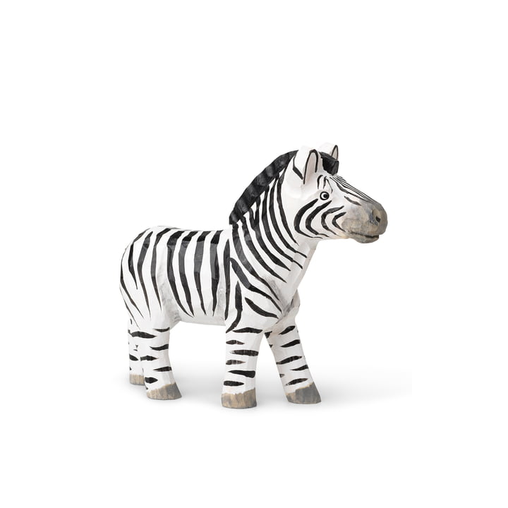 The Animal animal figure of ferm Living as a zebra
