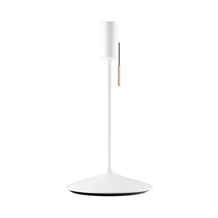 Champagne table lamp base H 42 cm from Umage in white