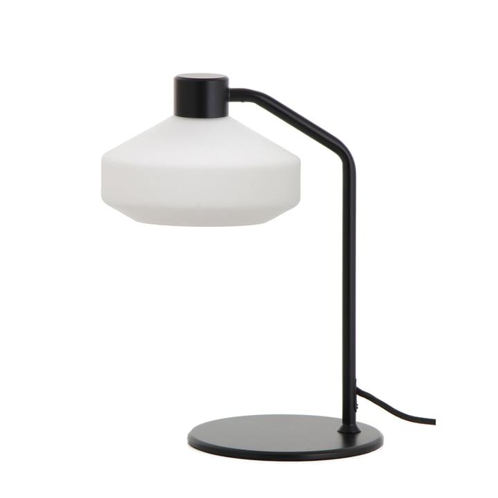 The Mayor table lamp from Frandsen in black matt / opal white