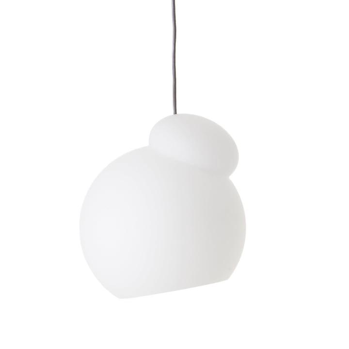 The Air pendant luminaire from Frandsen in Ø 22 cm, opal white