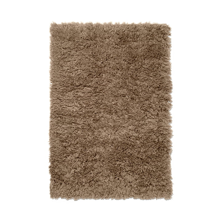 Meadow High pile carpet from ferm Living in dark beige