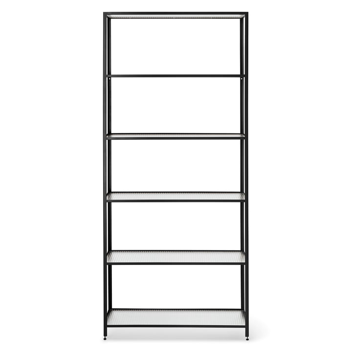The Haze bookshelf from ferm Living in black