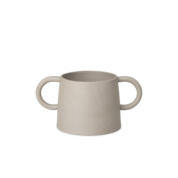 The Anse flower pot from ferm Living in natural