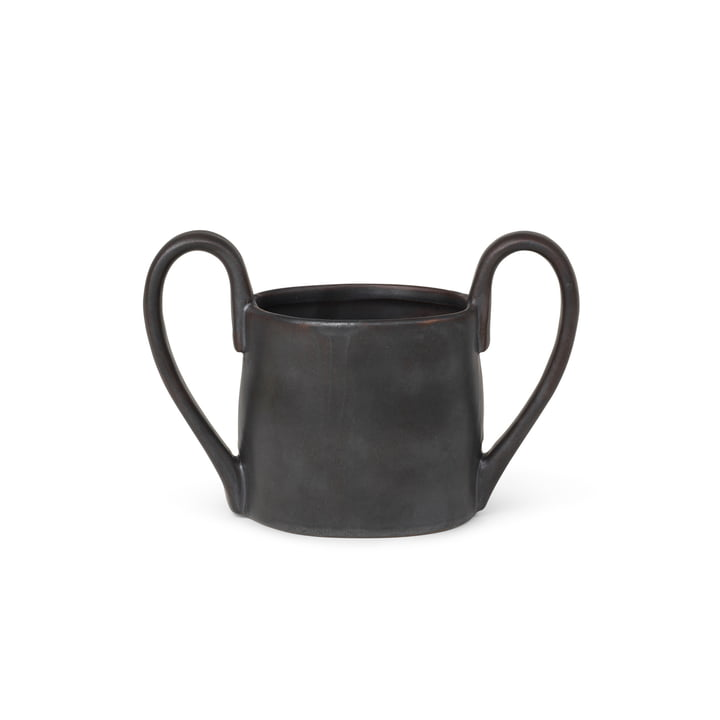 The Flow children's cup from ferm Living in black