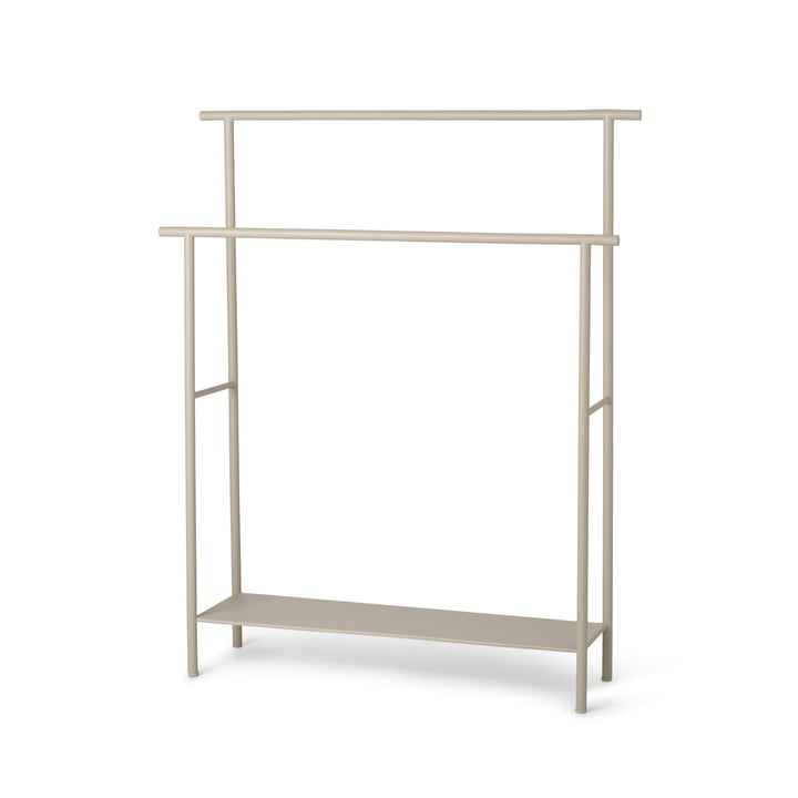 The Dora towel rail from ferm Living in cashmere