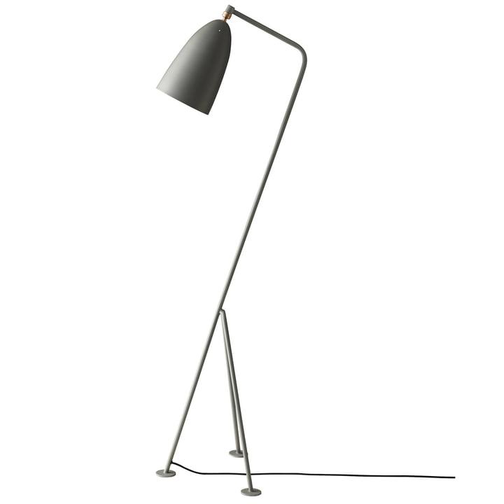 The Gubi - Gräshoppa Floor lamp GM1, blue grey