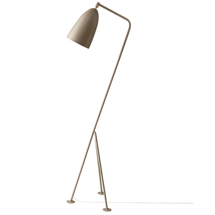 Gubi - Gräshoppa Floor lamp GM1, warm grey (EU)