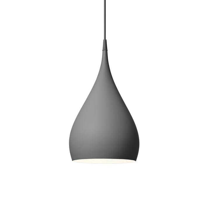 Spinning pendant lamp BH1 Ø 25 cm from & tradition in dark matt grey