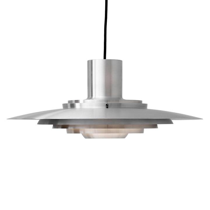 P376 Pendant lamp, KF2 in aluminium from & tradition