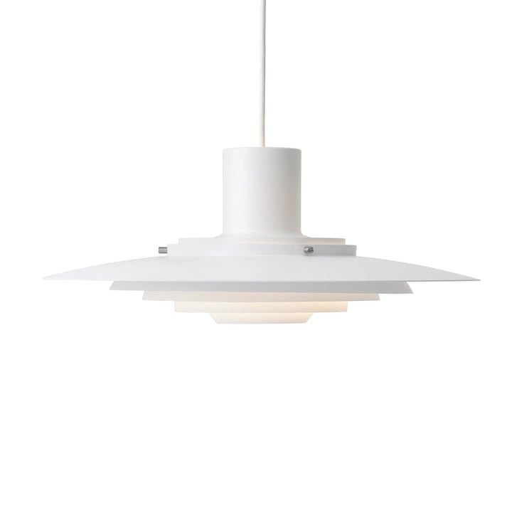 P376 Pendant lamp, KF1 / matt white from & tradition