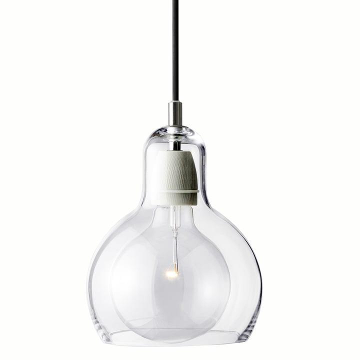 & tradition - MEGA Bulb pendant lamp, SR2, fabric Cable black