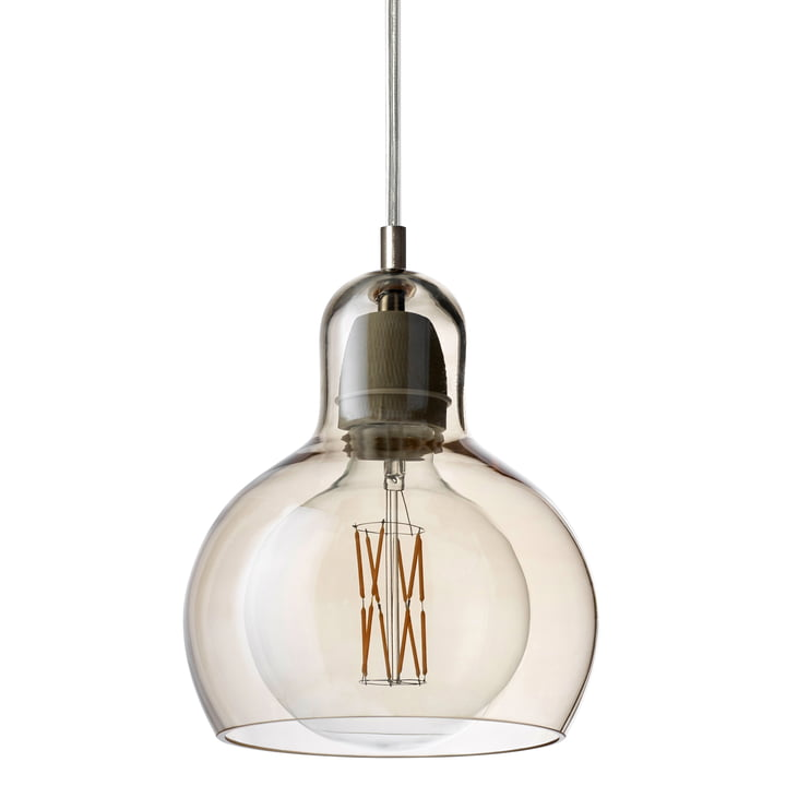 & tradition - MEGA Bulb pendant lamp SR2, glass shade gold / cable transparent