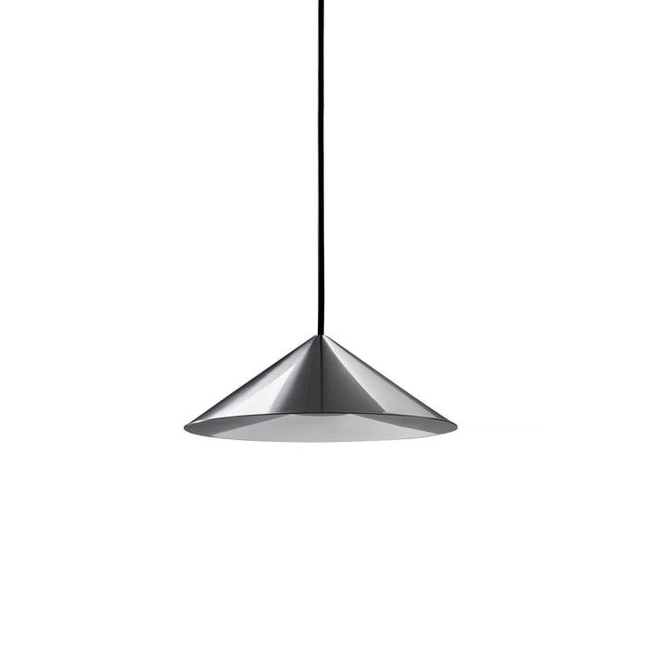 The w201 Extra Small LED pendant luminaire S3 from Wästberg in polished aluminium