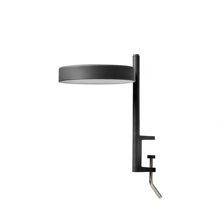 The w182 Pastille LED clamp light c1 from Wästberg in graphite black