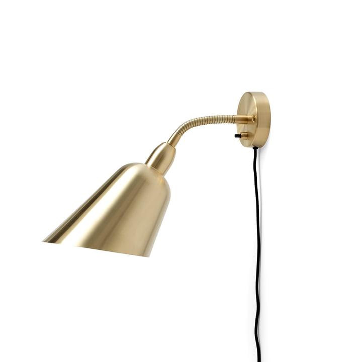 Bellevue wall lamp AJ9 by & tradition in brass