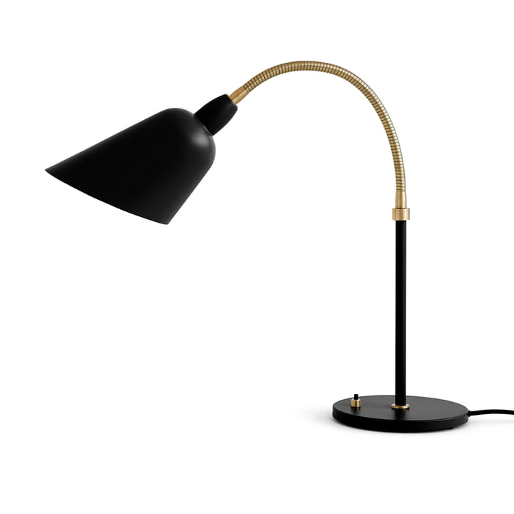 Bellevue table lamp AJ8 by & tradition in black / brass