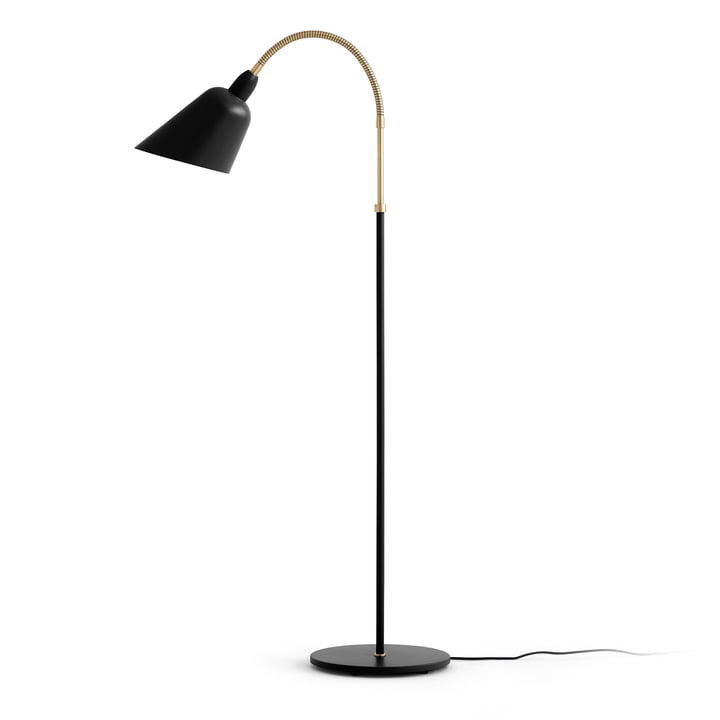 & Tradition - Bellevue Floor lamp AJ7, black / brass