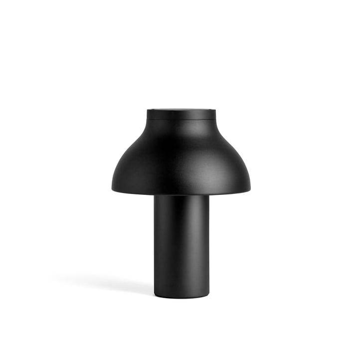 PC table lamp S, Ø 25 x H 33 cm, soft black by Hay