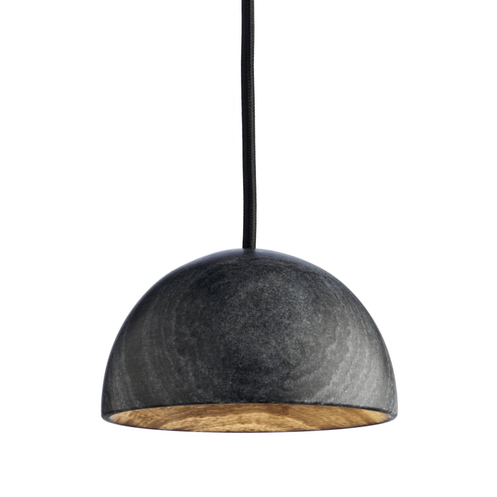 The Marble pendant lamp by Hay in marble black