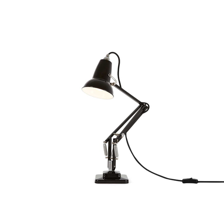 Original 1227 Mini Desk Lamp, jet black by Anglepoise