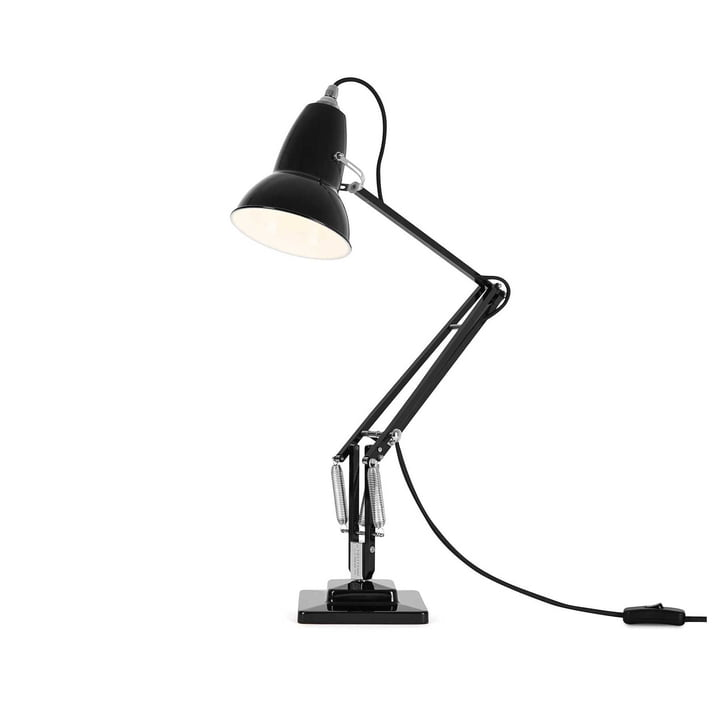 Original 1227 Table lamp cable black Jet Black by Angelpoise