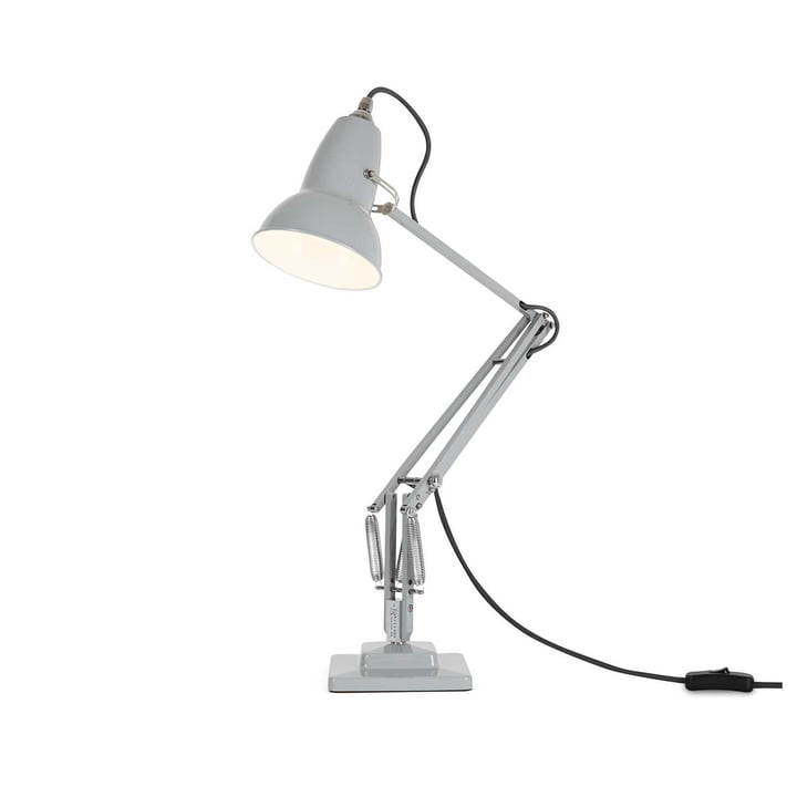 Original 1227 Table lamp, cable grey, Dove Grey by Anglepoise