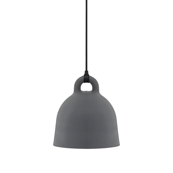 Bell Pendant Lamp by Normann Copenhagen in grey (small)
