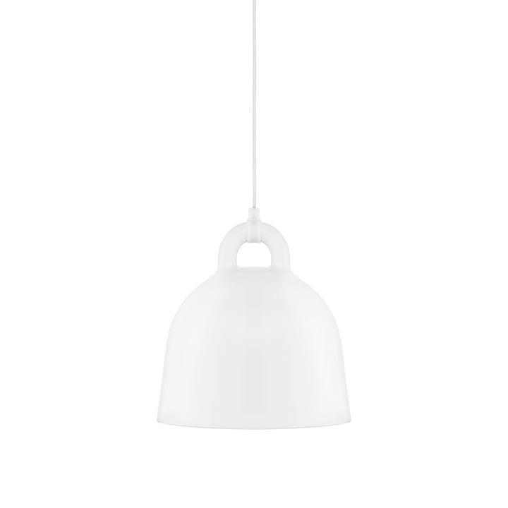 Bell pendant lamp by Normann Copenhagen in white (small)