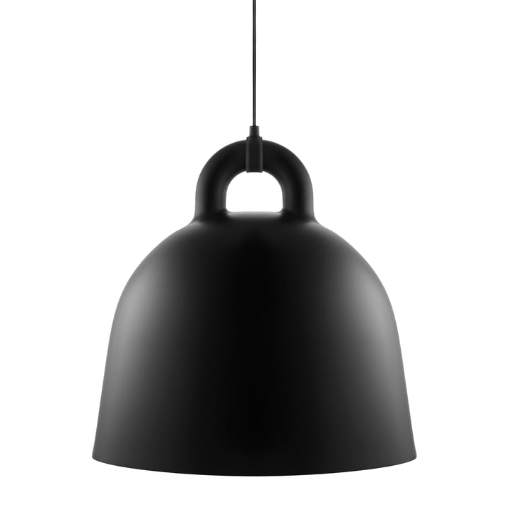Bell pendant lamp by Normann Copenhagen in black (large)