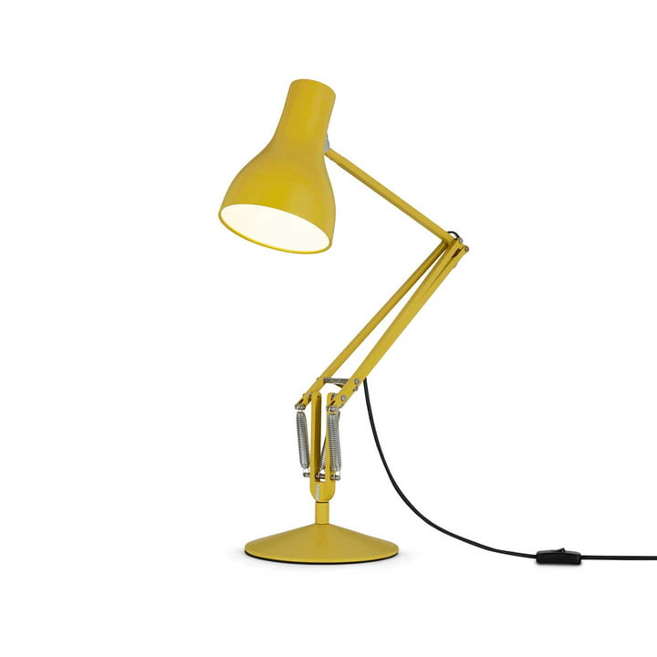 Type 75 Table lamp from Anglepoise in Ochre Yellow